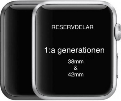 Apple Watch 1:a generationen