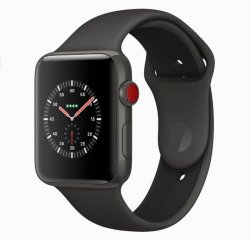 Laga Apple Watch s1, s2, s3 (38mm/42mm), s4 & s5 (40mm/44mm) trasigt glas.
